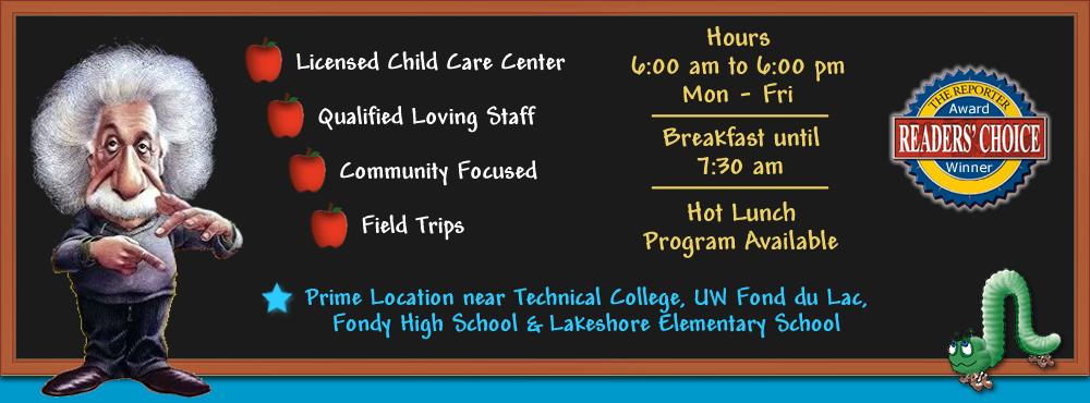 Licensed Child Care Center in Fond du Lac Wisconsin